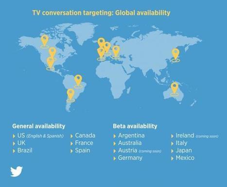 Anuncios dirigidos a conversaciones de TV en Twitter disponibles en España y en beta para Argentina y México | Uso inteligente de las herramientas TIC | Scoop.it