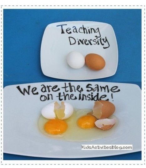 What is Diversity? {Egg Activity for Martin Luther King Jr. Day} - Kids Activities Blog | early childhood education | Scoop.it