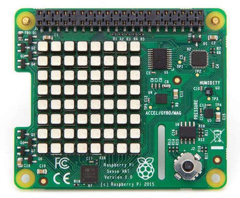 Now You Can Buy The Raspberry Pi HAT That Went Into Space - iProgrammer | Arduino, Netduino, Rasperry Pi! | Scoop.it