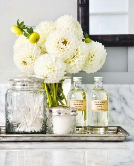 12 Ways to Dress Up Your Sink - Reasons To Skip The Housework | GirlyGlamHome | Scoop.it