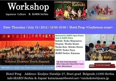 iEARN-Serbia and iEARN Japan (JEARN) to host one day workshop in Belgrade   iEARN in Action   Scoop.it