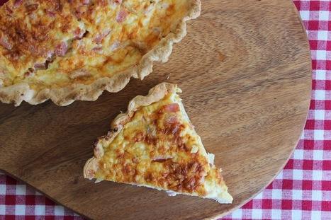 PicNic: Ham and Cheese Quiche | Recipes | Scoop.it