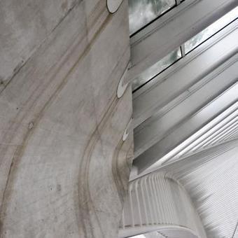 La gare Calatrava à Liège rouille déjà: de quoi inquiéter les Montois? | #ForestTimeline | Scoop.it