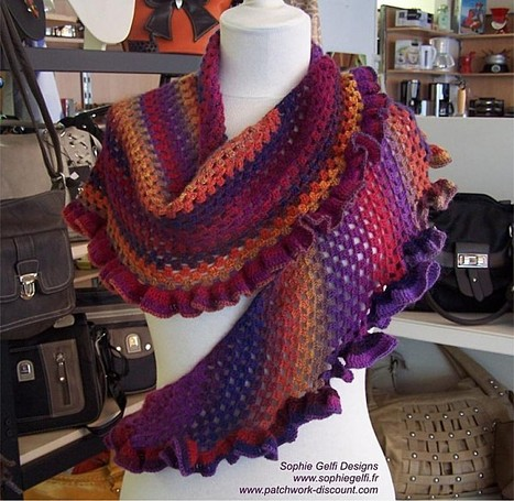 Le blog de Sophie Gelfi - Créations textiles | Tricot & co | Scoop.it