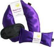 My Associates Store aromatherapy neck pillow and oils. - Happy Wraps® Unscented Flax Seed Neck Wrap w/Free Unscented Flax Seed Eye Pillow & Free Sleep Mask - Amethyst Satin | Something to learn everyday | Scoop.it