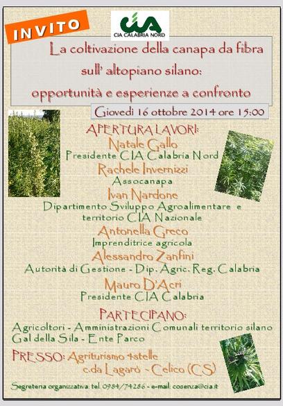 La coltivazione della canapa da fibra sull'altopiano silano: | Canapa e calce | Scoop.it