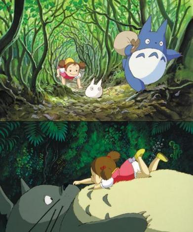 Mon voisin Totoro   L'art, petit à petit   Scoop.it