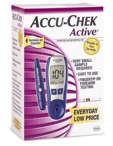 Accu-Chek Active Blood Glucose Meter | Accu Chek | Scoop.it