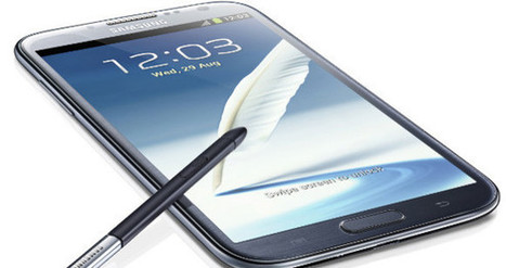 Samsung Galaxy Note 2   cool gadgets for a future house   Scoop.it