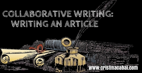 Collaborative Writing Activity: Writing an Article | Languages, Cultures and Bilingualism | Scoop.it