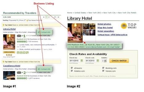 Business Listing come strumento di hotel marketing - 4Writing | Internet & Web | Scoop.it