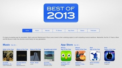 Apple Highlights Language Learning, Visual Design With Its 2013 Top App Store ... - TechCrunch   eJournal Gallery   Scoop.it