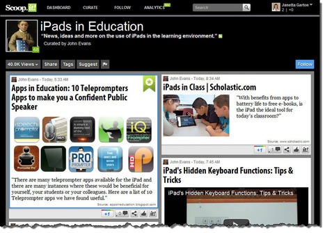Content Curation: Classroom Applications   Example   Scoop.it