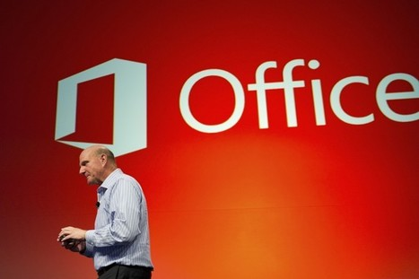 Office 2013 signals Microsoft is betting on cloud, touch and tablets | Cultura de massa no Século XXI (Mass Culture in the XXI Century) | Scoop.it