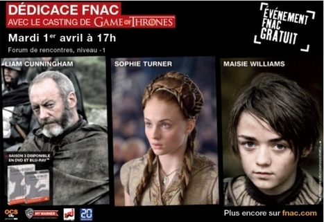 Epixod Le Blog: Back to the future | Dédicace Fnac Game of Thrones | Scoop.it