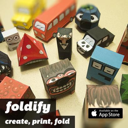 Foldify for iPad - Create, Print, Fold! | Just Cool Stuff | Scoop.it