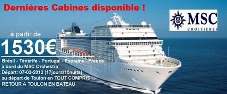 Cap Croisières Voyages votre spécialiste des croisières. | les croisières à thèmes | Scoop.it