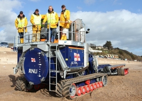 Still £24k to go as new launch vehicle arrives at Exmouth RNLI - Exmouth Journal | Exmouth Devon | Scoop.it