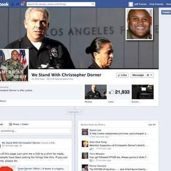 Accused killer Dorner has fans on social media - USA TODAY | Social Media for the Masses | Scoop.it