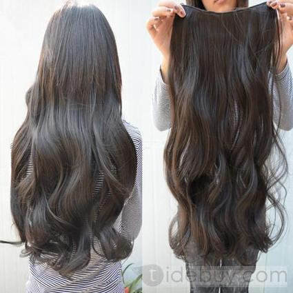 2012 Olympic Passion Long Wavy Human Hair New Brazilian Silky 24inches Super Natural | expensiven | Scoop.it