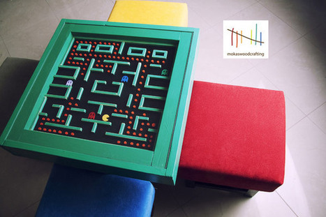 Pac-Man Table is Retro Class All the Way | All Geeks | Scoop.it