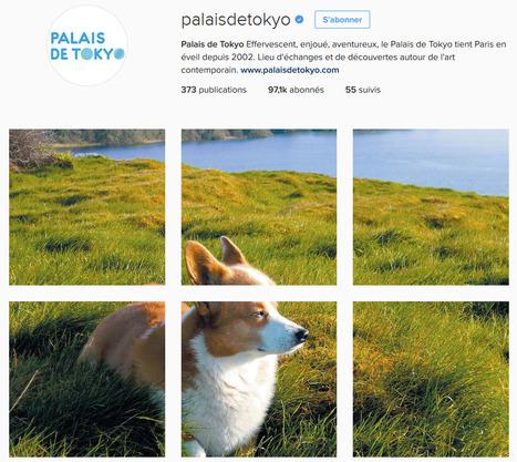 [DOSSIER CLIC] Le Palais de Tokyo occupe la 3ème place du Top 40 Instagram et gagne 11,5% d'abonnés en mai 2016 ! | Clic France | Scoop.it