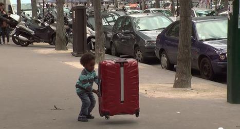 Samsonite fait léviter une valise dans les rues de Paris | Blogs de pub | Scoop.it