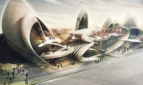 Insect-Wing-Inspired Design Wins Moscow Circus School Competition | Biomimicry | Scoop.it