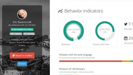 Trolldor Rates Twitter Users for Content, Likely Troll Status | Shrink and Geek | Scoop.it