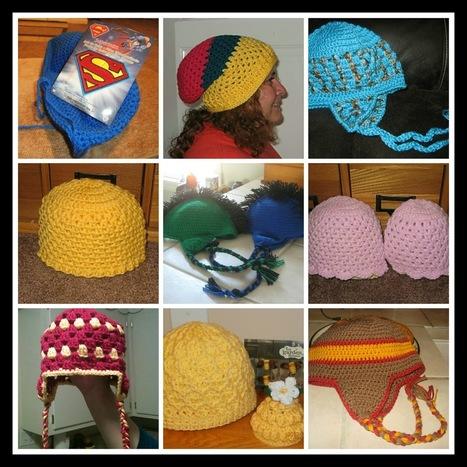Tracy's Crochet Bliss: HATS DRIVE ME CRAZY! | CrochetHappy | Scoop.it