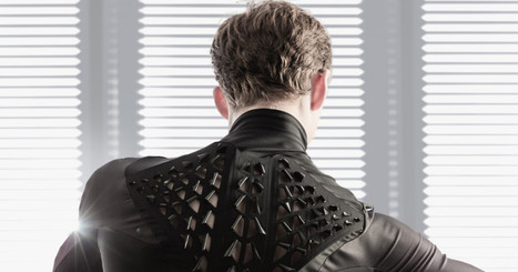 This Living Clothing Morphs When You Sweat | Knowmads, Infocology of the future | Scoop.it