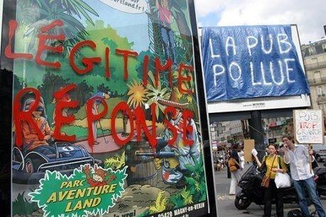 Quand Emmanuel Macron prône la multiplication des panneaux publicitaires - Basta | Actualités écologie | Scoop.it