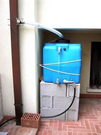 Recupero dell'acqua piovana: sistemi fai-da-te