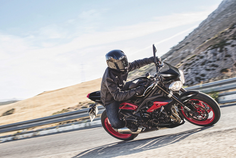 Special Edition Triumph Street Triple Rx Black announced | Motorcycle Industry News | Scoop.it