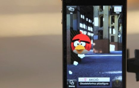 3D Angry Birds in Augmented Reality | Augmented Reality News and Trends | Scoop.it