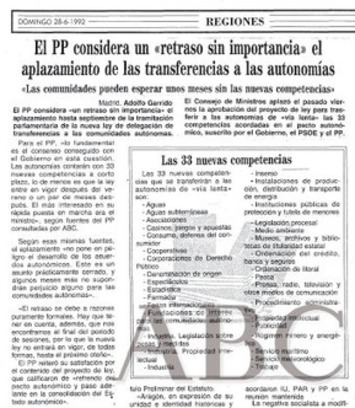 Las transferencias que cuestiona hoy Esperanza Aguirre fueron pactadas por Aznar y González en los 90 | Radiocable.com - Radio por Internet | Partido Popular, una visión crítica | Scoop.it