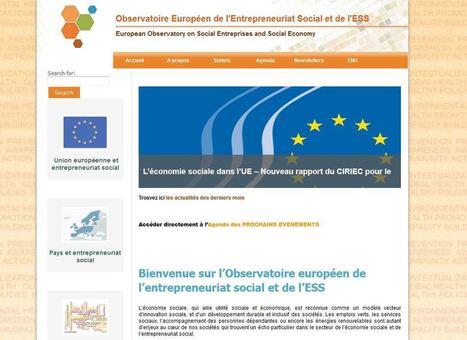 Observatoire Européen de l'Entrepreneuriat Social et de l'ESS | Chuchoteuse d'Alternatives | Scoop.it