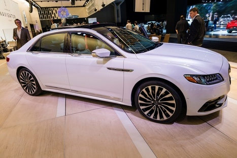 À la découverte de la Lincoln Continental 2017 pour les passionnés de belles berlines | Auto Industry News | Scoop.it