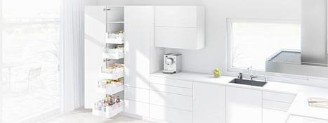 SPACE TOWER pantry | Kitchen Design - Functional Ergonomics | Scoop.it