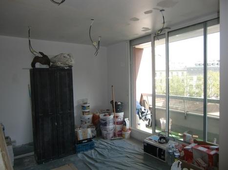 Rénovation d'un deux pièces à Paris 11 : les travaux sont bientôt terminés ! | Avant Après | Scoop.it