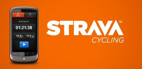 Strava Cycling GPS Tracker - AndroidMarket | Android Apps | Scoop.it