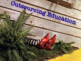 Captain Future e-learning: Are we outsourcing education? | Technology & Learning | Scoop.it
