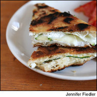 8 and 20 Recipe: Grilled Goat Cheese Sandwiches with a Sauvignon Blanc   Matchmaking   News & Features   Wine Spectator   On the Plate   Scoop.it