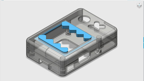 Layer by Layer: Designing Raspberry Pi B+ Case | Raspberry Pi | Scoop.it