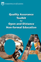 Commonwealth of Learning - Quality Assurance Toolkit for Open and Distance Non-formal Education | Distance Ed Archive | Scoop.it