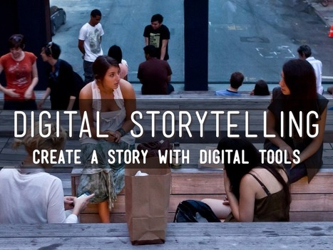 """Digital Storytelling"" - A Haiku Deck by Judy Arzt 