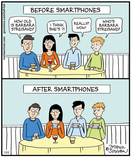 Dinner Parties: Before and After Smartphones | MarketingHits | Scoop.it