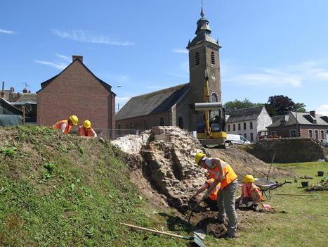 Les fouilles ont repris sur le Forum antique de Bavay | Archéologie dernières brèves | Scoop.it