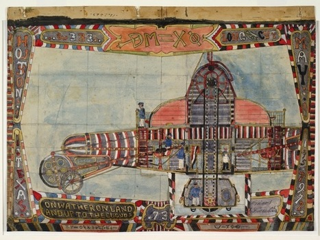 Early-20th-Century Drawings of Fanciful Flying Machines #SciFiSunday | Tudo o resto | Scoop.it