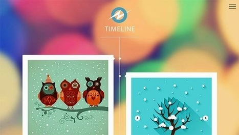 Timeline Responsive Blogger Template | Blogger themes | Scoop.it